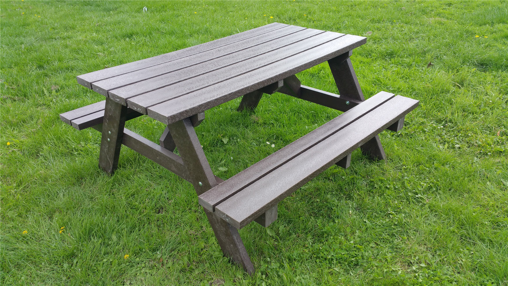 heavy duty recled composite picnic table