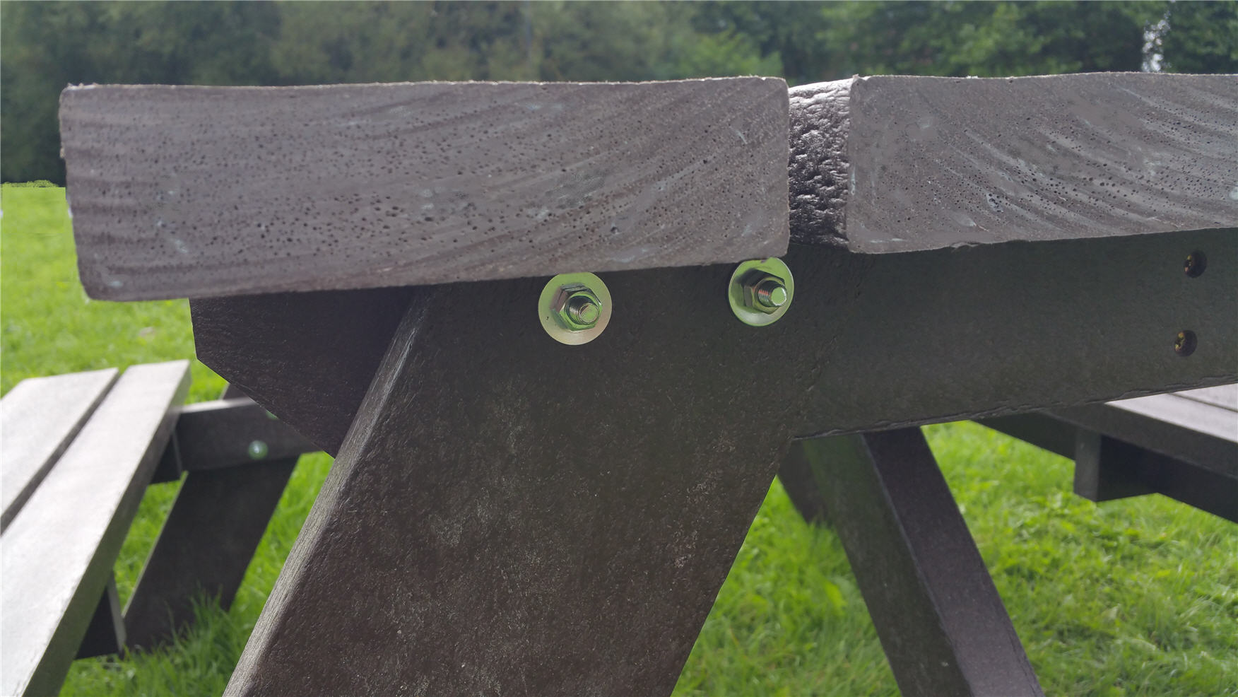 Heavy Duty Recycled Composite Picnic Benches