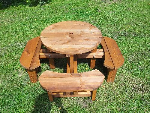 Childrens /  Infants Excalibur Round Picnic Table