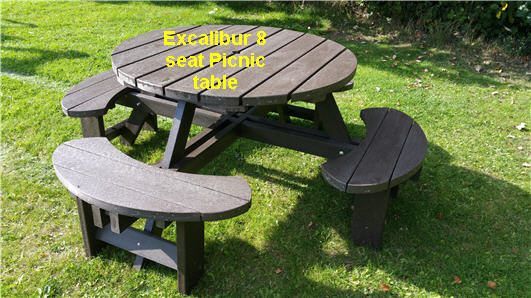 Crbogercom Trex Picnic Table Rclf Site Furnishings